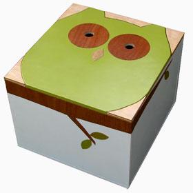 Mod Mom Owl Box